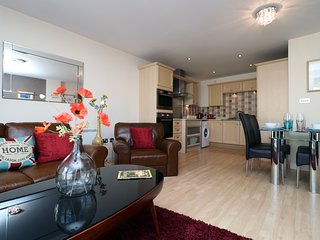 Fantastic apartment in the heart of Mermaid Quay, 1 min to water front