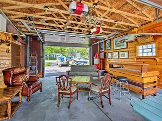 Lakefront Cambellsport Home w/Deck+Party Room