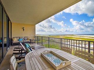 Beachfront Dauphin Island Resort Condo w/Pool