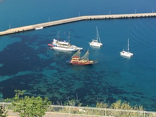 Sea and riverview Alanya