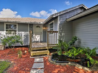 NEW! Stuart Home w/ Screened Porch ~9 Mi to Beach!