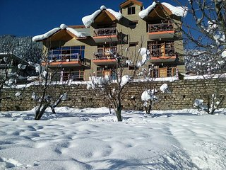 Wooden Furnished Cottage in Manali
