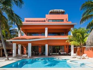 Villa Lol-Beh - 12 bedroom villa in beautiful Soliman Bay, Tulum