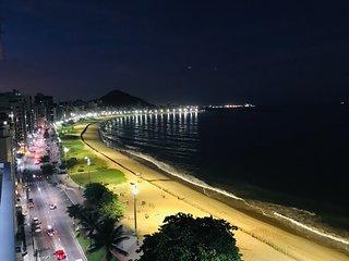Lindo 2Qtos Frente Mar na Praia da Costa
