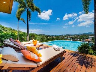 Villa Mantra - 4+1 Bedrooms, Sea view, Bangtao to Surin beach