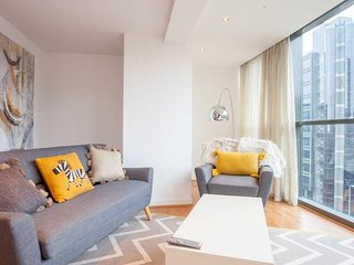 Modern and spacious flat in the heart of the city