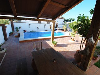 Chalet with deluxe pool quiet area