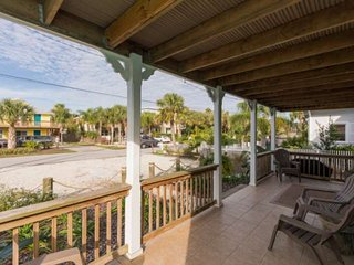 Seascape 1 - Downstairs unit Incredible Beach House, lovely street 300 ft. from
