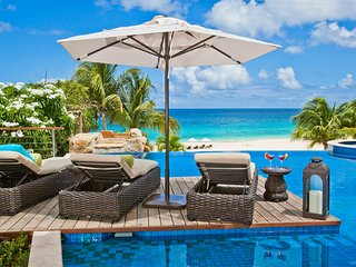 Nevaeh Villa Anguilla, 9 bedroom beachfront villa (5, 6, 8 bed rates on request)