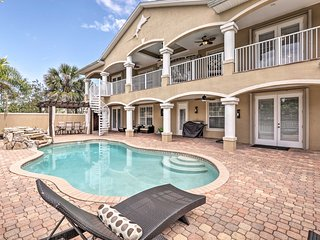 Lavish Palm Coast Home w/ Game Room & Private Dock