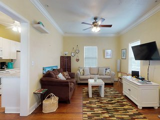 Charming, dog-friendly home in historical district - close to the beach!