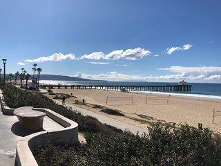 Enchanting Spanish Duplex with Ocean Views...1 Block to Beach!