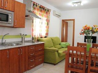 Apartamento central con aire acondicionado
