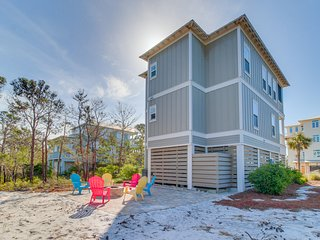 Oceanview, dog-friendly home w/ a private hot tub & shared pool
