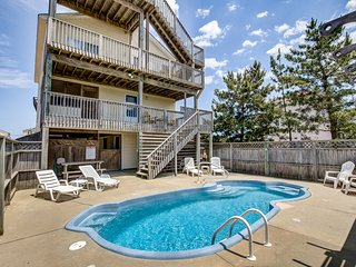 Lasea Days | 540 ft from the beach | Private Pool, Hot Tub | Nags Head