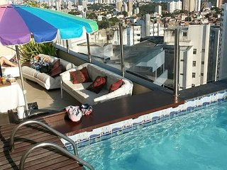 Duplex Penthouse w/ Private Pool for Couples or Executives in Salvador - SSA001