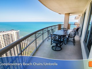 Balcony Access - Every Room. Oceanfront. Immaculate. Magnificent Panoramic View!