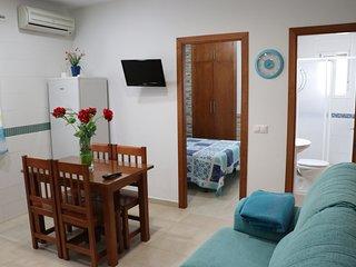 Apartamento para 3 en el centro