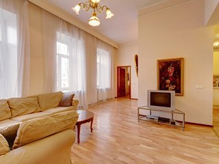 2 bedroom apartment with saun near the Hermitage