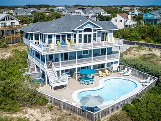 Corolla Horizon | 289 ft from the beach | Private Pool, Hot Tub