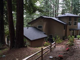 Occidental Redwood Retreat - large luxurious 4br home in West Sonoma