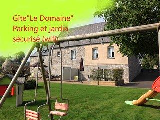 Le Domaine. Location de vacances à proximité du Mt St Michel (wifi)