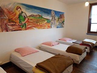 Les Brimbelles Hostel Aubure Dortoirs, Chambres proche Ribeauvillé sur le GR5