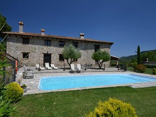 Mas Planella Rural Villa in Mieres near the volcanic natural park in La Garrotxa
