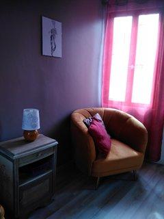Gîte 8 pers+bébé  'AUX 10 PONTS'  chambre