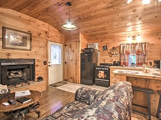 Cozy & Quiet Sevierville Studio w/ Deck & Fishing!