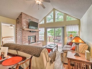 Waterfront Sunrise Beach Home w/Dock & Grill!