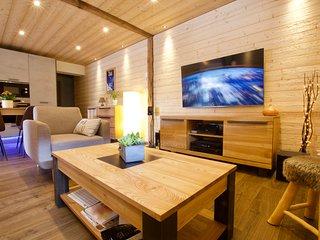 Appartement style montagnard