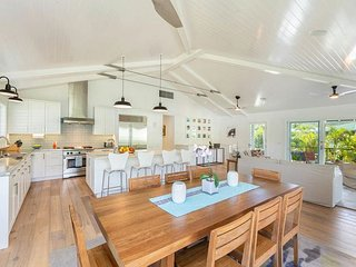 Luxury, Upscale Hanalei Home!  Short walk to Hanalei Village and to the Bay!