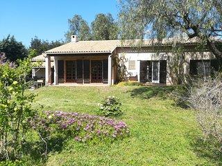 Villa dans un parc arbore
