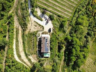 bella, nuova casa vacanze nelle colline vicino mare e monti di Pesaro e Urbino.