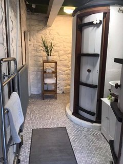 Downstairs shower room with toilet