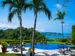 Private villa above Los Suenos with unmatched oceanview, pool and jacuzzi