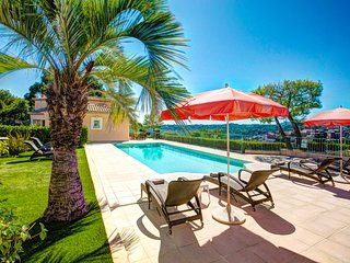 Biot Villa Sleeps 8 with Pool Air Con and WiFi - 5604770