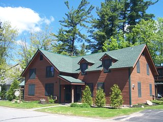 Pine Lodge: The Tree House - 3 bedrooms, sleeps 6, in town, AC!