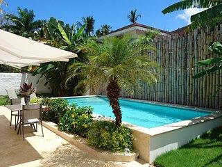 Modern Villa/PrivatePool/250M Beaches-Rests-Bars-Kite Surf-Free Wifi - BBQ