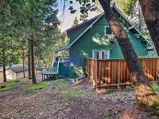 NEW! Quiet Gold Country Home, 4 Mi to Twain Harte!