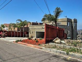 San Diego Home w/ 3 Patios & Panoramic Views!