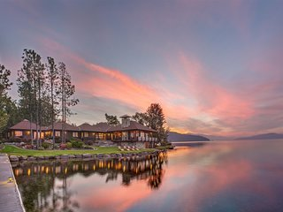 The Point at Sandpoint | Exceptional Luxury | Finest Home on Lake Pend Oreille