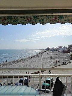 Vistas a la playa