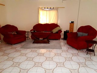Yellow Castle, 3 bedroomed Penthouse Apartment in Brusubi Gambia