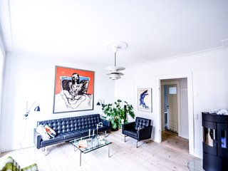 Lovely apartment located in the vibrant area Copenhagen Vesterbro