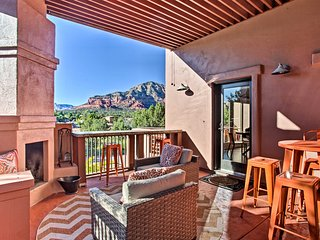West Sedona House w/ Furnished Patio & Views!