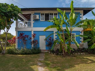 Villa 2, side view