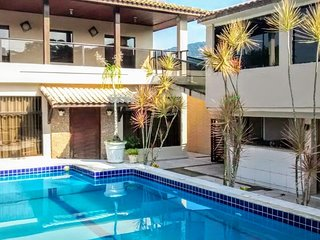 CASA COM PISCINA E 5 SUITES ENSEADA GUARUJA