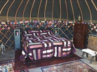 Holnest Holidays Yurt Camp, Farway, Devon